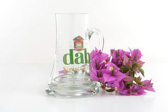 Jarra de cerveza alemana Dab meister-pils por Brocantebcn en Etsy#beerglassmug#germanbeerstein#collectiblebeermugs