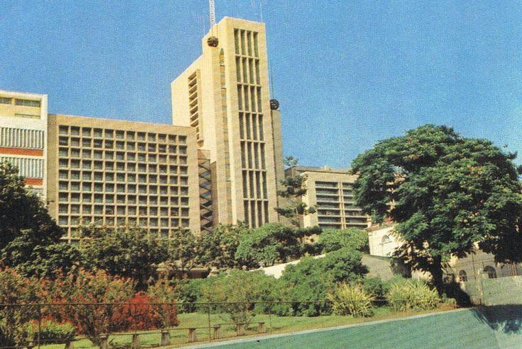 Edifício do Rádio Clube de Moçambique, Lourenço Marques, 1950