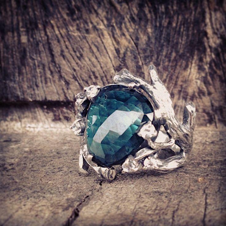 #DonnaYolka #Jewelry #tourmaline #silver