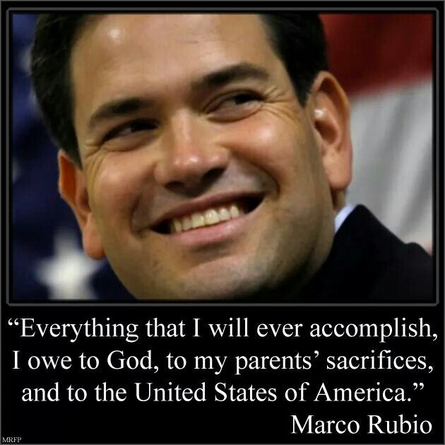 Marco Rubio Quotes Entrancing 28 Best Marco Rubio An American Son Images On Pinterest  Blondes . Inspiration