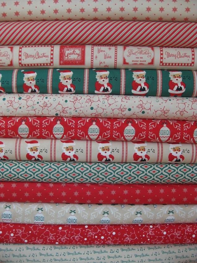 250 best Fabrics - Christmas images on Pinterest | Fat quarters ...