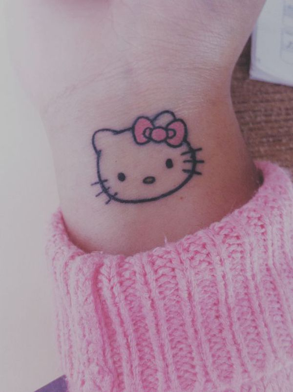 34 Most Adorable Hello Kitty Tattoo Ideas Fashionlookstyle Com Inspiration Your Fashion And Style Hello Kitty Tattoos Hello Kitty Hello Kitty Nails