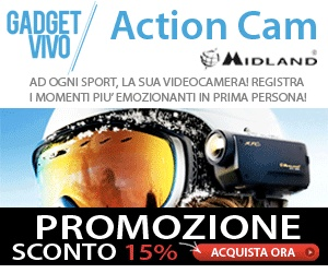 Gadget Vivo sconto 15% su tutte le videocamere Action Cam