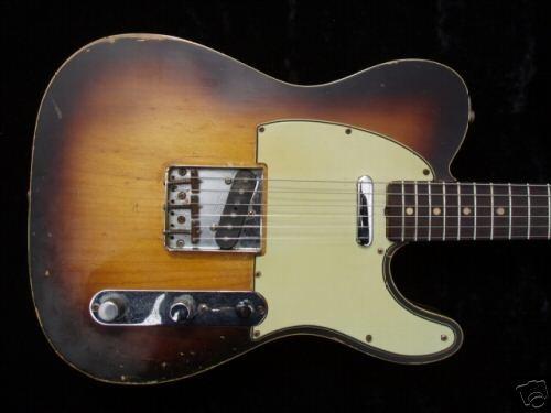 1960 Fender Telecaster Custom.
