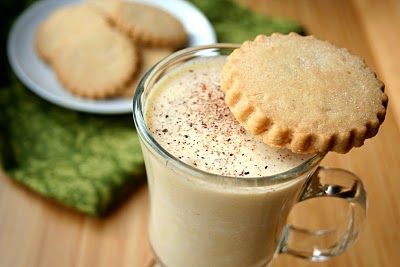 Almond Milk Eggnog ... All Day I Dream About Food.....will be making this soon!!!