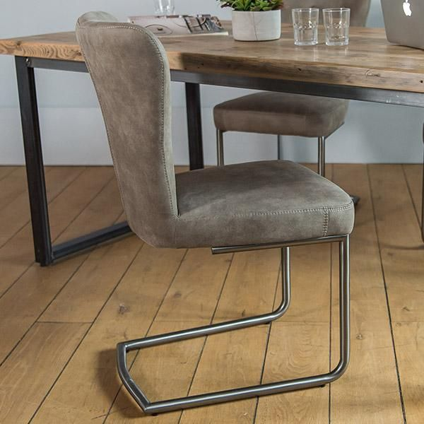 Ambrose Upholstered Dining Chair Pair Faux Leather Dining Chairs Dining Chairs Comfortable Living Room Chairs