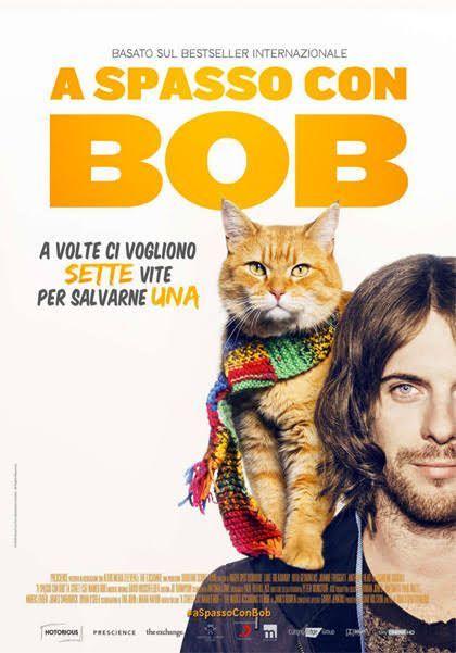 A spasso con Bob è un film drammatico del 2016, diretto da Roger Spottiswoode, con Luke Treadaway e Ruta Gedmintas. Il film è tratto dal romanzo autobiografico omonimo di James Bowen del 2010