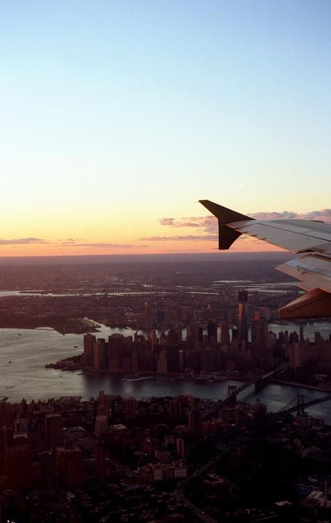 Jet-setters, you know this is a favorite view. What is your JFK-approved getup?