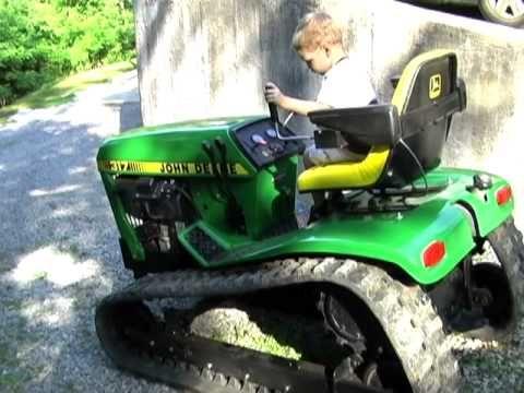 ▶ Custom Built John Deere 317 Crawler - YouTube