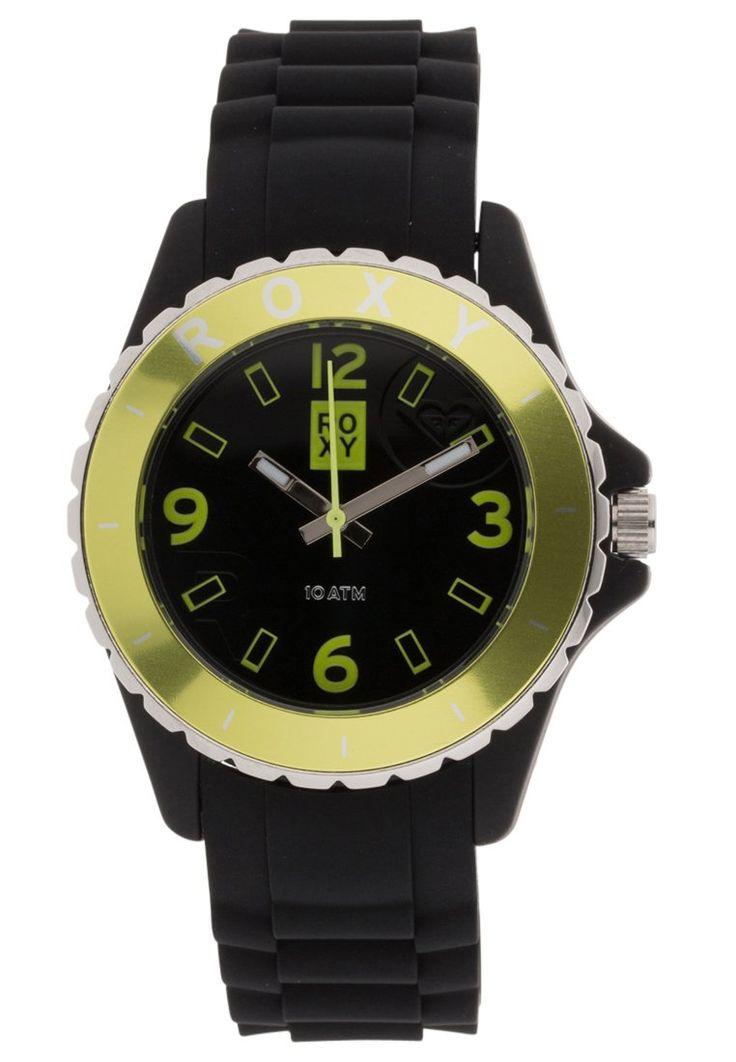 Reloj Roxy JAM black/yellow - #YoElijoElPrecio.com