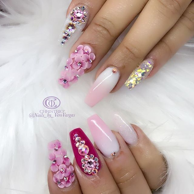 See this Instagram photo by @nails_by_verovargas • 402 likes
