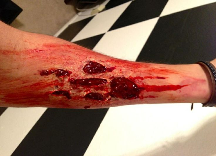 17 best images about liquid latex wounds on pinterest