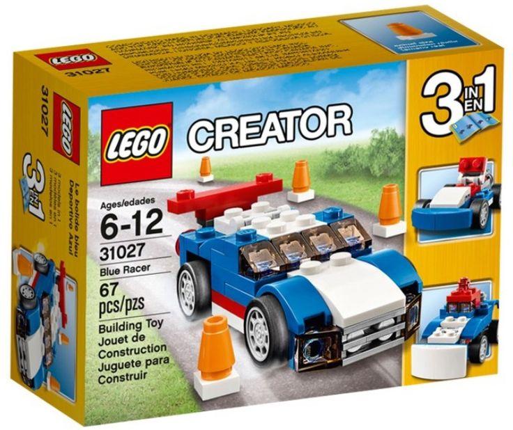 Lego 31027 Синий гоночный автомобиль