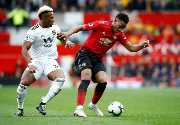 Manchester United S Anthony Martial And Wolverhampton Wanderers Anthony Martial Manchester United Wolverhampton