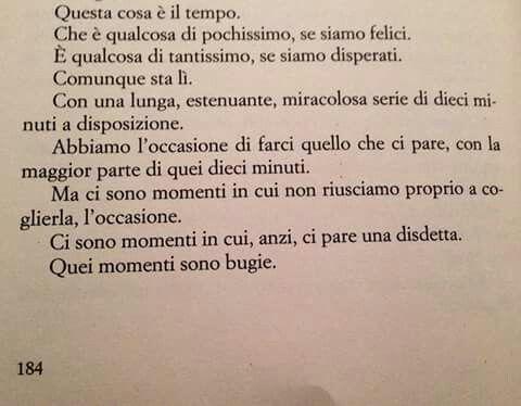 """Tratto da """" Per dieci minuti """" Di Chiara Gamberale"""
