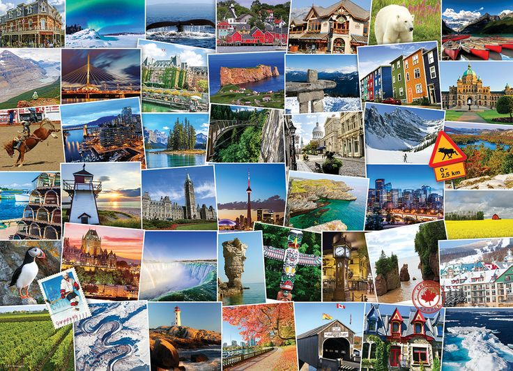 Canada Globetrotter. 1000 pieces. Oh Canada! Learn about landmarks from sea to sea covering one of the worlds most beautiful (and nicest) countries!