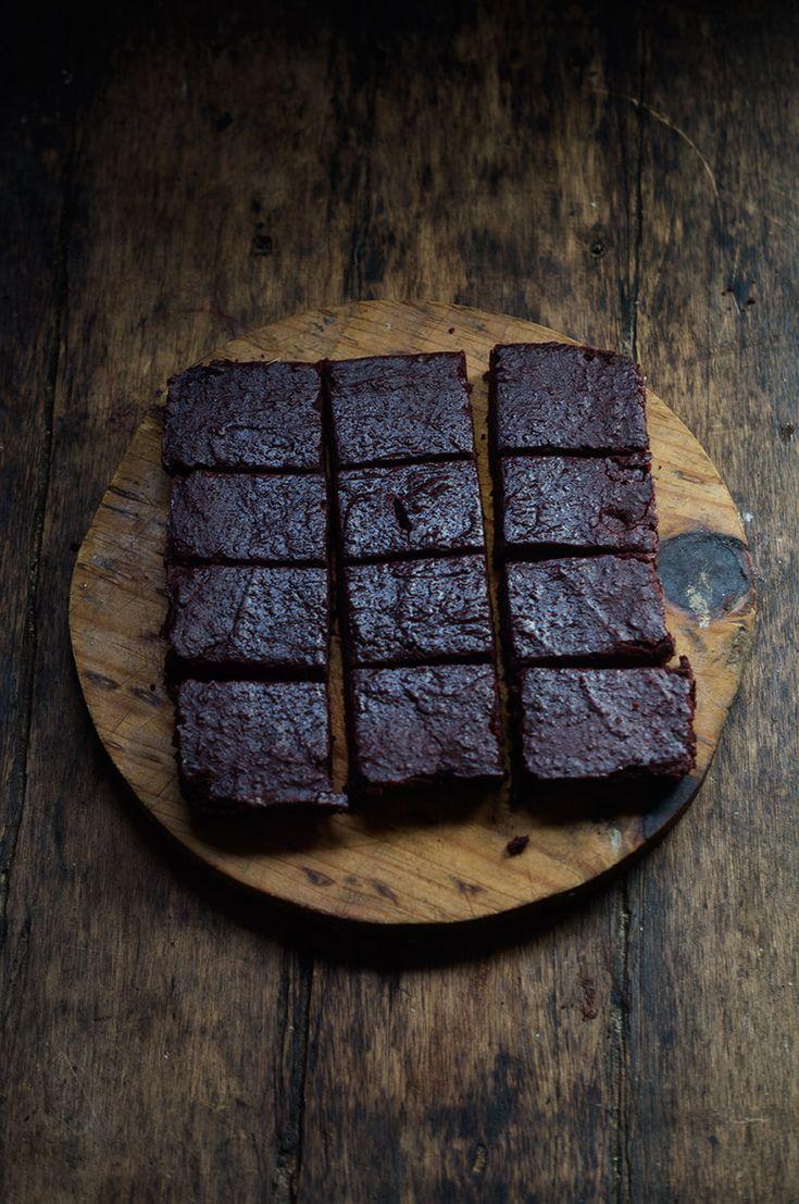Rústica: Brownies de Betabel (Remolacha)