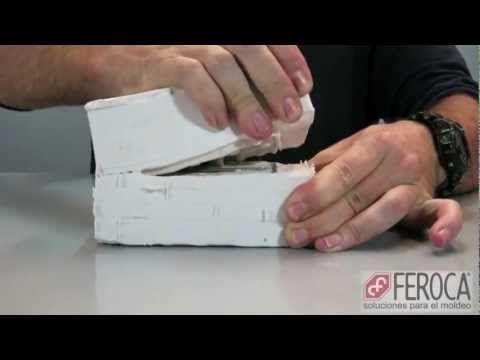 Tutorial Moldes caseros de látex y copias en yeso - Escenografía 28mm - COSICAS - YouTube