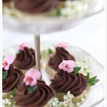 Nyttig rawfoodbakelse med chokladmousse - Recept - Tasteline.com