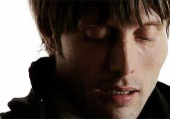 "Mads Mikkelsen as Jacob in the movie, ""Shake It All About"" (2001). Mads, you had me when you opened those vulnerable eyes!"