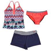 Girls Plus Tankini with Shorts