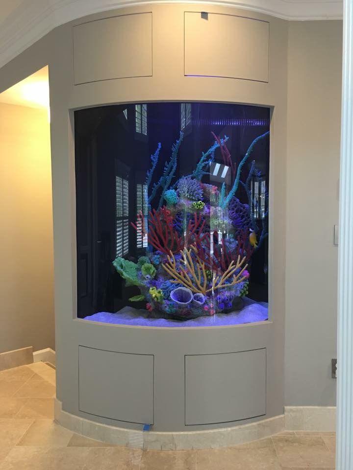 41 best custom aquariums by for Custom fish tanks