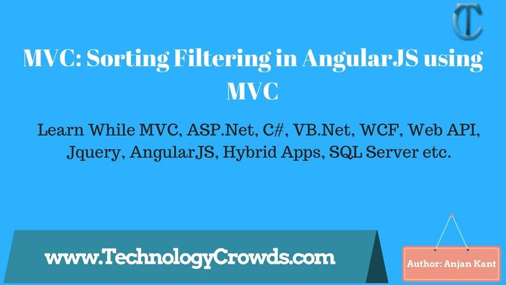 MVC: Sorting Filtering in AngularJS using MVC