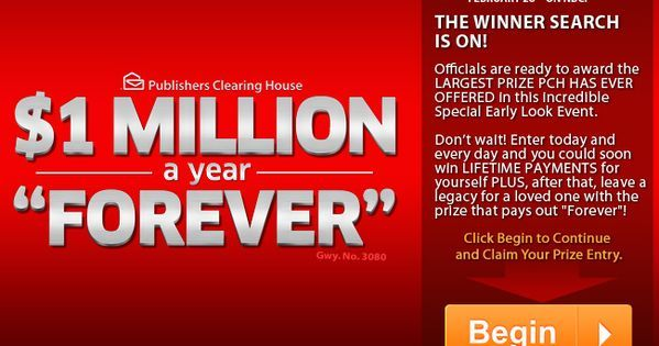 Pch Win It All Sweepstakes Emily gee claims 1million dollers