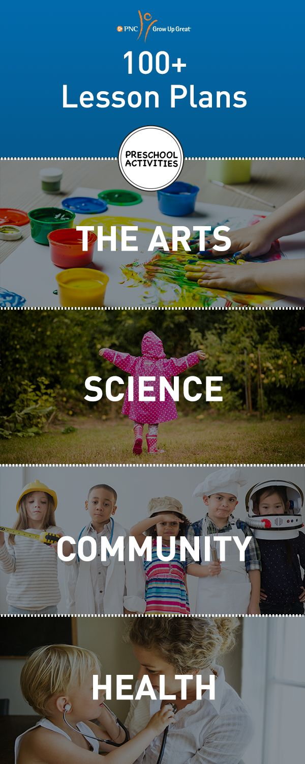Explore our collection of over 100 printable, inquiry-based lessons and experiments for inspiration at home or in the classroom. Visit the PNC Grow Up Great® Lesson Center we developed with highly regarded organizations, and early childhood educators.