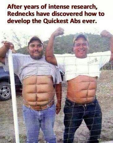 Redneck abs