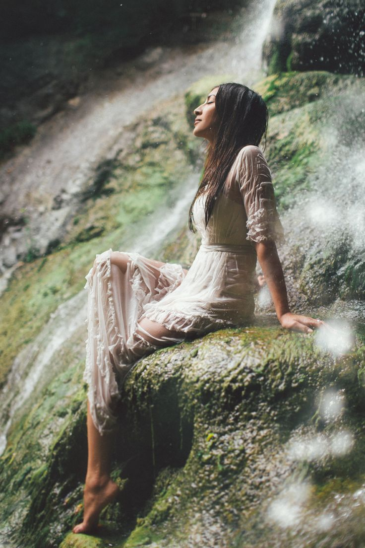 Big Sur Waterfall Engagement by Kelsea Holder Photography