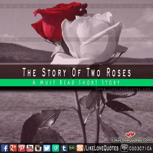 The Story Of Two Roses - Must Read Short Story