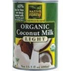 Native Forest Light Coconut Milk (12x14 Oz)