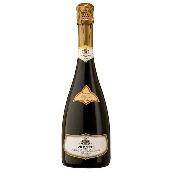 Vincent Prestige Brut - Hongarije - Mousserende wijn - Eemlandwijnen.nl   Mooie en Exclusieve Wijnen voor een goede prijs