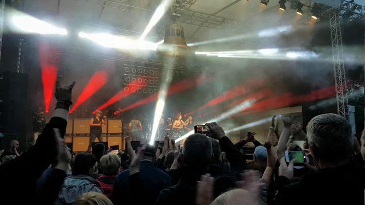 Die 5. #Boddenklänge mit BAROCK, Europas größter AC/DC Tribute Band