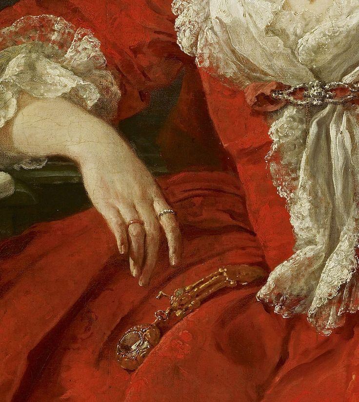Miss Mary Edwards by William Hogarth, 1742