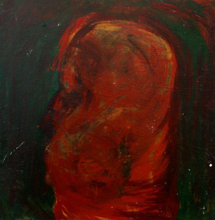 Dark by David Nemeth (acryl on wood)