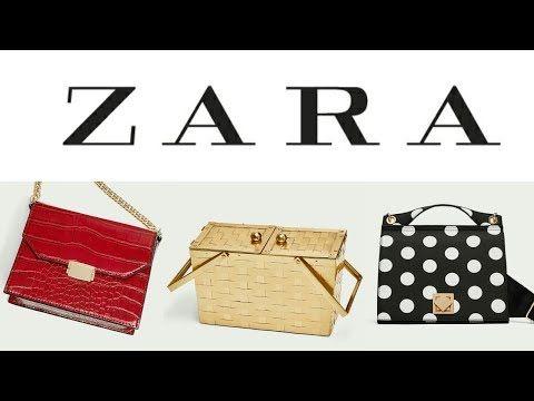 BOLSOS DE MUJER DE ZARA | Nueva Colección de Moda Primavera Verano 2018 bolsas, riñoneras y más - YouTube