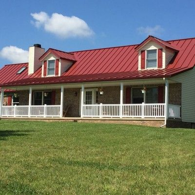 Best 8 Best Colonial Red Metal Roof Images On Pinterest 400 x 300