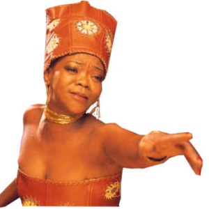 Brenda Fassie- South African Singer and activist.