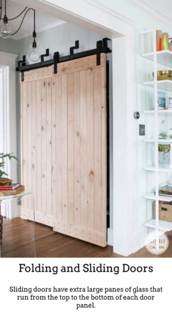 Sliding Doors Produce Beautiful Vibrant Rooms With The Help Of Thermally Insulated Sli Diy Barn Door Barn Doors Sliding Interior Sliding Barn Doors