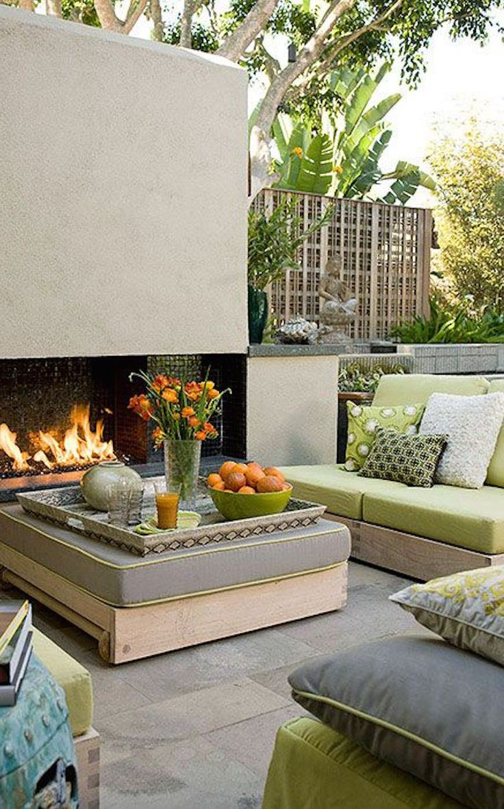 Use These Outdoor Fireplace Ideas To Give Your Deck Patio Or Backyard Living Room A Dramatic Focal Point Browse Pictures Of Designs For