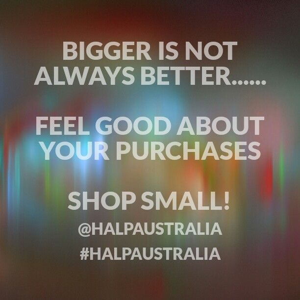 Support small business! ;)