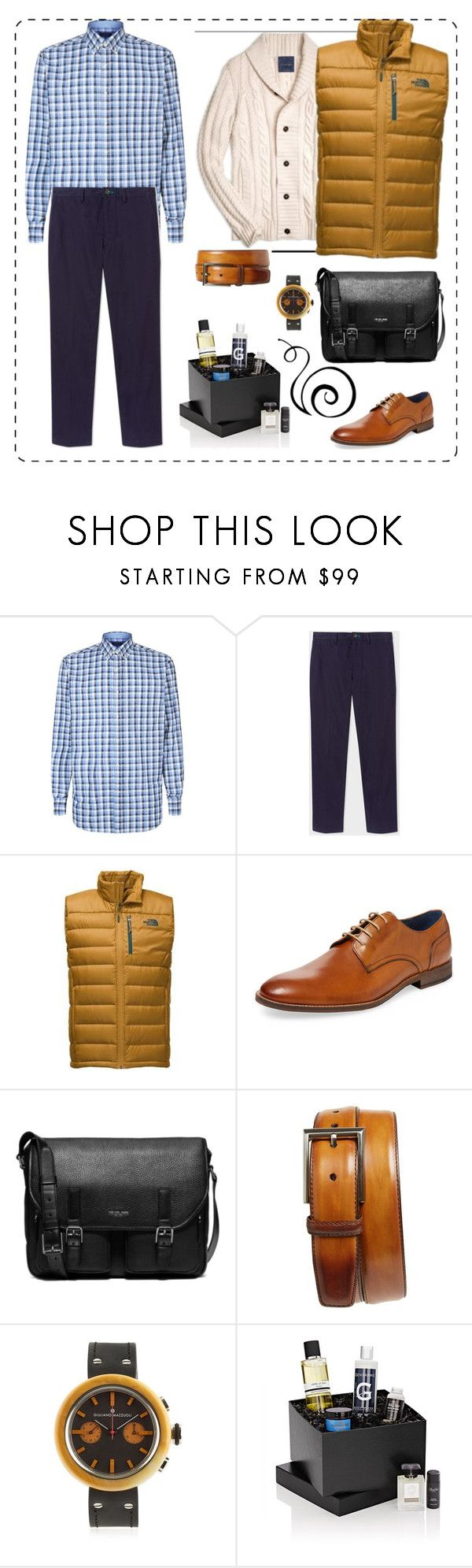"""Без названия #152"" by uleetka ❤ liked on Polyvore featuring Paul & Shark, The North Face, Gordon Rush, Michael Kors, Magnanni, Giuliano Mazzuoli, Beauty Box, men's fashion and menswear"