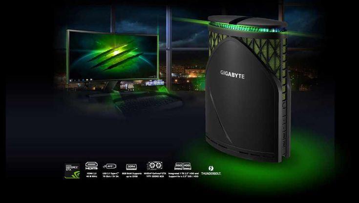 Gigabyte BRIX Gaming GT Desktop leaks ahead of CES next month