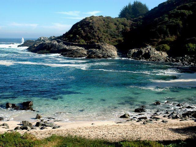 Playa Las Cujas (Cachagua, Valparaíso)