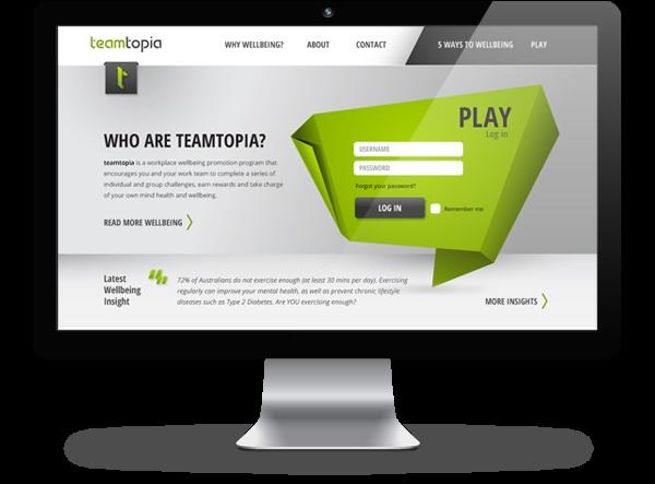 Teamtopia by Ashleigh Lennie, via Behance