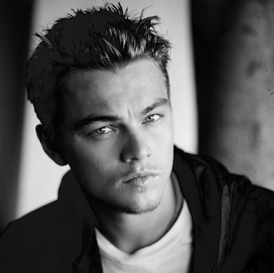 Leonardo DiCaprio - I fell in love with him because he reminded me of River Phoenix.