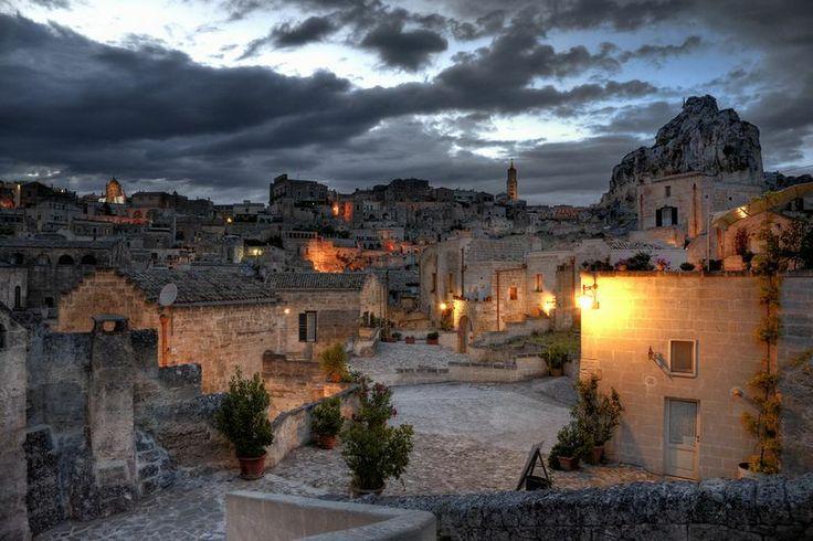 Matera - sunset