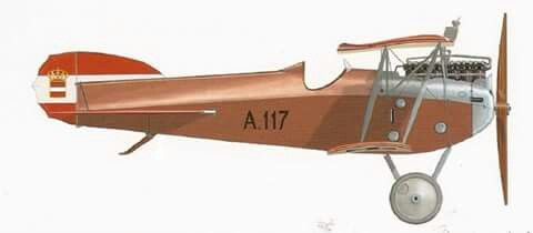 The aircraft of the Dual Monarchy's other naval ace, Friedrich Lang.